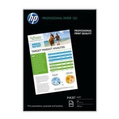 HP Professional Matt Inkjet Paper-200 sht/A4/210 x 297 mm