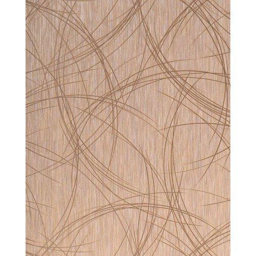 EDEM 1021-13 design wallpaper crack texture metallic look brown silver 5.33 sqm