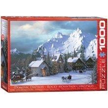 Eg60000426 - Eurographics Puzzle 1000 Pc - Rocky Mountain Christmas