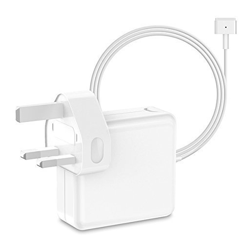 MacBook Pro Charger, MacBook Air Charger, SIXNWELL Replacement Magsafe 2 85W T-Tip Power Adapter for Apple MacBooks (s)