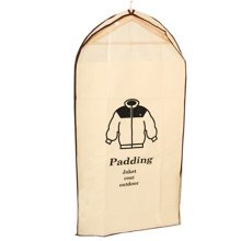 """Creative Reusable Dust Proof Padding Cover Bags Simple Garment Bag 42*23.2"""""""