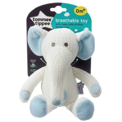 Tommee Tippee Breathable Toy - Elephant - 0m+
