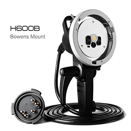 Godox AD H600B 600W Flash Head Protable Off Camera Light Lamp for Godox Witstro AD600B AD600BM Bowens Mount