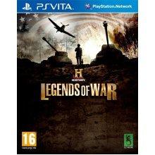 History Legends Of War (PS Vita)