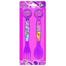 Boyz Toys St426 2pc Cutlery Set - My Little Pony, Pink - Pony -  boyz toys st426 2pc cutlery set my little pony pink