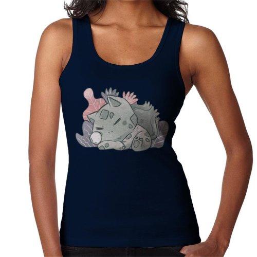 Pokemon Sleeping Bulbasaur Women's Vest