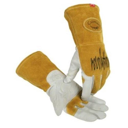 Caiman 607-1868-XL Caiman Revolution Welding Gloves For Multi-Task-Tig Welding, Revolution Goat Tig Glv Xl