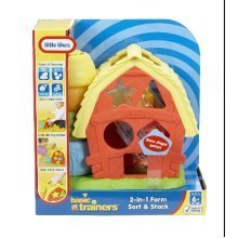 LITTLE TIKES 2 IN 1 FARM SORT AND STACK