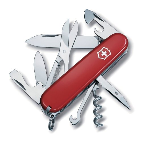 Red Victorinox Climber Swiss Army Knife