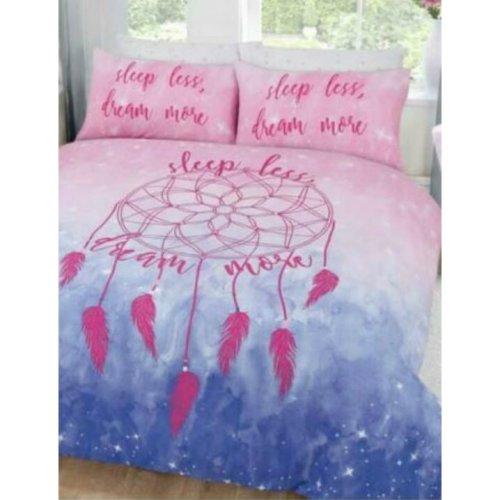 Pink & Blue Relaxing Dreamcatcher Dreams Duvet Set