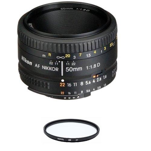 NIKON AF 50MM F1.8D + HOYA UX UV 52mm Filter