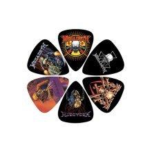 Megadeath Plectrum Pack - 6 Perris Picks Guitar One Size Megadeth Set -  6 pack perris picks guitar one size megadeth megadeath set officially