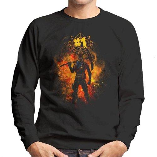 Rust Lord Spray Art Fortnite Men's Sweatshirt