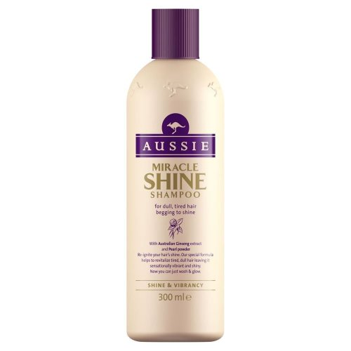 Aussie Shampoo Miracle Shine Revival For Dull Tired Hair Ginseng Extract 300ml
