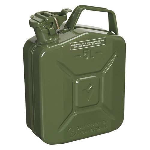 Sealey JC5MG 5ltr Jerry Can - Green