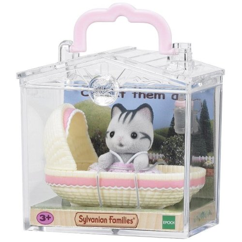 Baby Carry Case Cat In Cradle