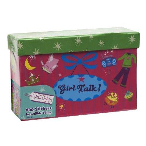 Paper Magic Girls Only, Girl Talk 800 Count Sticker Box