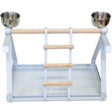 Strong Parrot Playground Livia Silverstone White 49.5x30.5x33 cm 93079