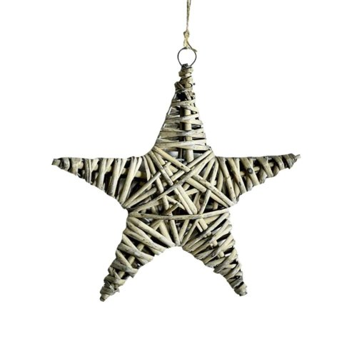Hang Decorations Home Decor Wall decoration Balcony Decoration Five-pointed star/24cm