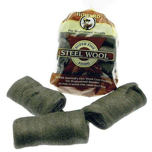 Super Fine 0000 Grade Steel Wool x8 Wire Wool Pads For Cleaning and Finishing