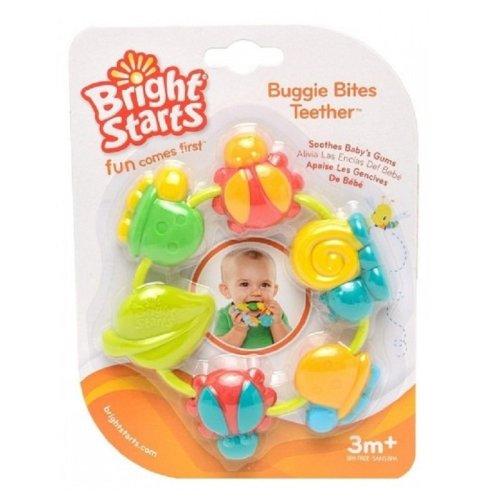 Bright Starts Buggie Bites Teether Orange
