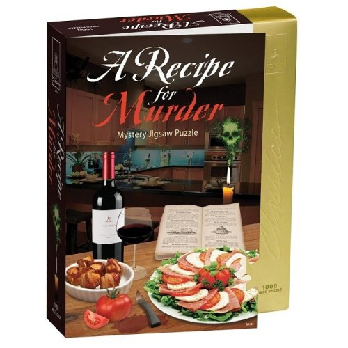A Recipe for Murder Mystery Jigsaw Puzzle (1000 Pieces)