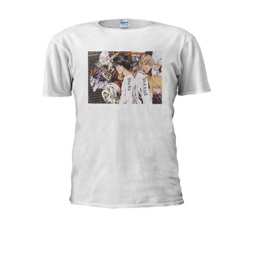 Death Note Light Anime L Manga Japan Men Women Unisex Top T Shirt