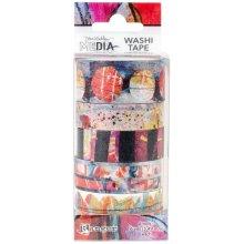 Dina Wakley Media Washi Tape-#2-6 Rolls