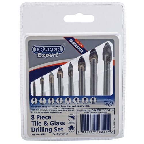 Draper Glass And Tile Drill Bit Set
