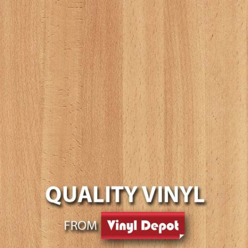 d-c-fix Sticky Self-Adhesive Wood Vinyl Beech Planked Medium 450mm/m