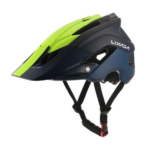 Lixada Mountain Bike Helmet Cycling Bicycle Helmet Sports Safety Protective Helmet 13 Vents Comfortable Lightweight Breathable Helmet for Adult...
