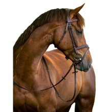 Kerbl Snaffle Bridle Classic Leather Brown Full 324913