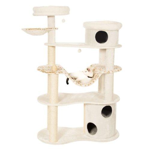 XXL Sturdy Cat Tree with Scratching Barrel