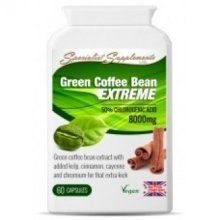 Specialist Supplements - Green Coffee Bean Extreme Veg Caps60