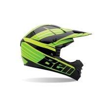 Bell Helmets 7049993 MX 2014 SX-1 Adult Helmet, Crusade Green, XXL