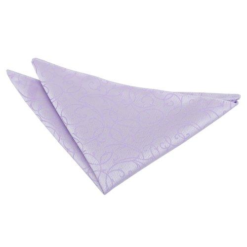 Lilac Swirl  Pocket Square