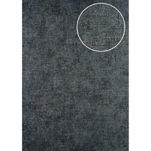 ATLAS CLA-601-8 Unicolour wallpaper matt anthracite grey brown 5.33 sqm