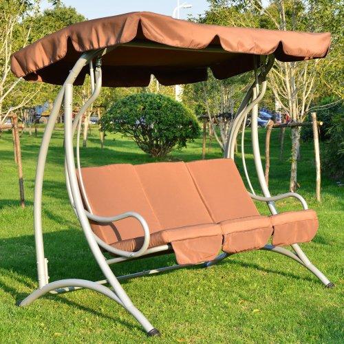 Outsunny 3 Seater Swing Swinging Hammock
