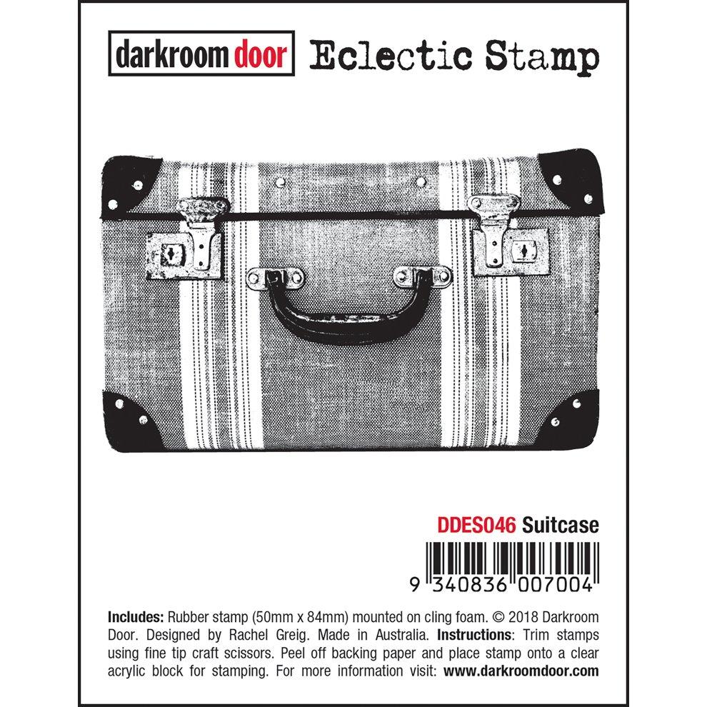 Darkroom Door Cling Stamps 7.3X5.1-Yuletide Greetings