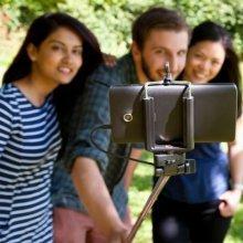 Pocket Click Stick -  pocket stick click thumbs up smartphones telescopic selfie tool