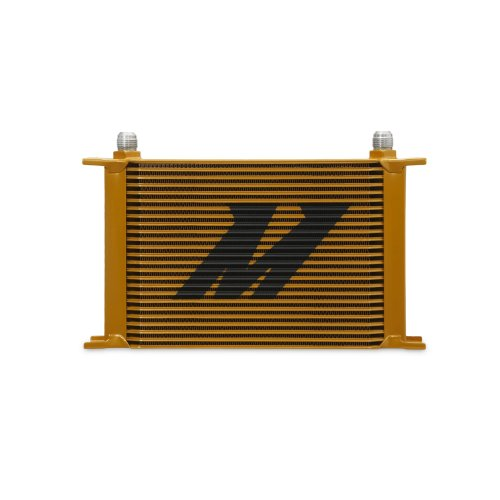 Mishimoto MMOC-25G Universal 25-Row Oil Cooler, Gold