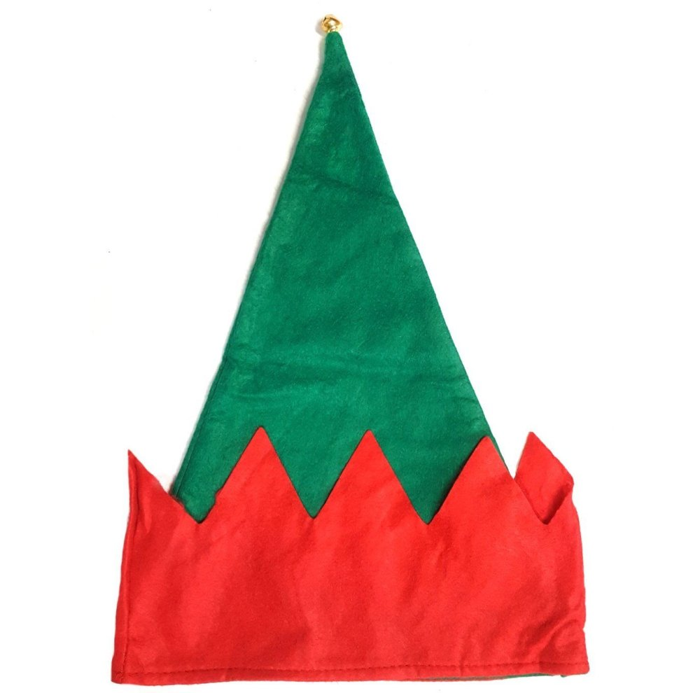 60f03e9306bca ... Felt Elf Hat with Bell - Christmas Fancy Dress Hat for Children or  Adults - 1.