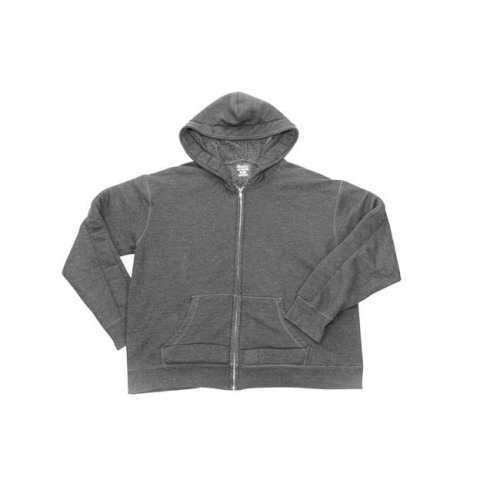 Covered in Comfort 1543214 Weighted Hoodie, Gray - Small