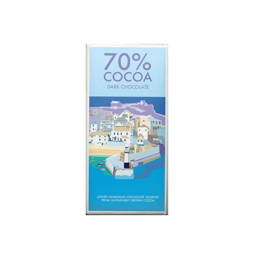 Kernow 70% Dark Chocolate Bar 100g