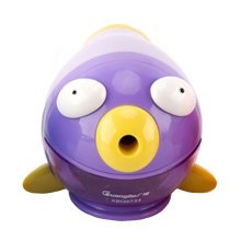 Cute Fish Manual Pencil Sharpener For Office And Classroom?Bubble Fish