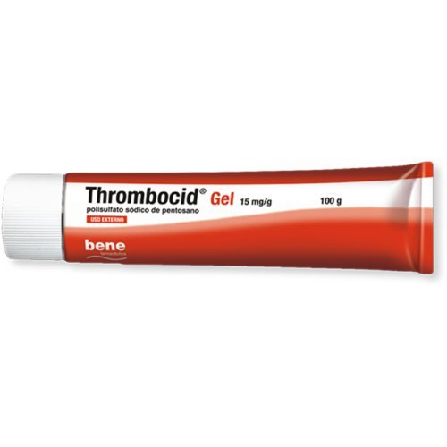 Thrombocid Gel 100g / 3.53oz - BIG SIZE TROMBOCID GEL