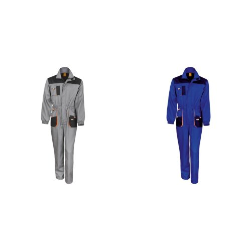 Result Unisex Work-Guard Lite Workwear Coverall (Breathable And Windproof)