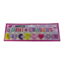 Childrens Mini Erasers - Lucy