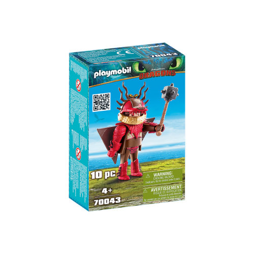 Playmobil DreamWorks Dragons Snotlout With Flight Suit 10PC