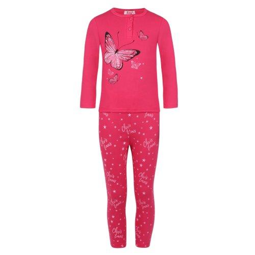 Girls Butterflies Pyjama SF-18627 Set